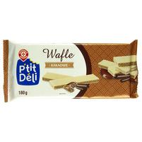 WIODĄCA MARKA P'tit deli Wafle przekładane kremem kakaowym