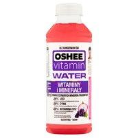 OSHEE Vitamin Water Napój niegazowany o smaku czerwonych winogron i dragonfruit