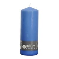 MÜLLER KERZEN Świeca lampion 180/70mm niebieski