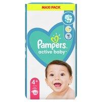 PAMPERS Active Baby Rozmiar4+ (10kg-15kg)