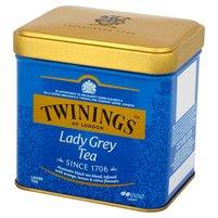 TWININGS Lady Grey Czarna herbata liściasta z aromatem owoców cytrusowych