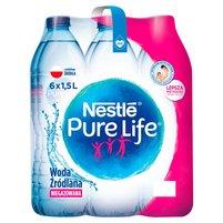 NESTLE Pure Life Woda źródlana niegazowana (6 x 1,5L)