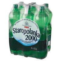STAROPOLANKA 2000 Naturalna woda mineralna wysokozmineralizowana gazowana (6x1,5l)