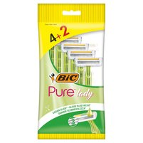 BIC Pure Lady Jednoczęściowe maszynki do golenia