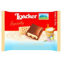 LOACKER Milk Creme Czekolada mleczna