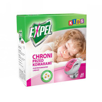 Expel Kids Elektro z płynem chroni przed komarami