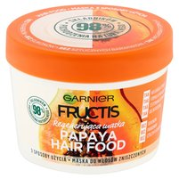 GARNIER Fructis Papaya Hair Food Maska do włosów zniszczonych