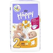 BELLA Baby Happy Pieluszki jednorazowe 2 mini (3-6 kg)