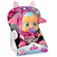 TM TOYS Cry Babies Płacząca lalka bobas Bruny Smok 99197 (18m+)