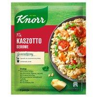 KNORR Fix Kaszotto serowe z kurczakiem i pomidorkami