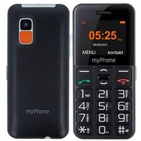 MYPHONE Halo Easy Telefon dla seniora czarny