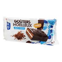 WIODĄCA MARKA P'tit Deli Ciasteczka kakaowe w polewie z kakaowej