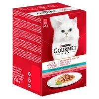 GOURMET Mon Petit Pełnoporcjowa karma dla dorosłych kotów (6 x 50 g)