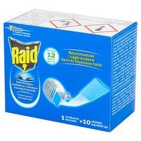 RAID Przeciw komarom Elektrofumigator owadobójczy z wkładkami
