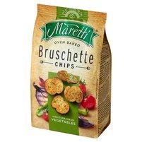 MARETTI Bruschette Pieczone krążki chlebowe o smaku warzyw śródziemnomorskich