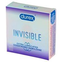 DUREX Invisible Dodatkowo nawilżane Prezerwatywy
