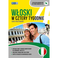 REA Włoski w cztery tygodnie. Kurs podstawowy z nagraniami dialogów (okładka miękka)