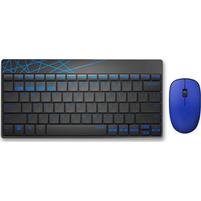 RAPOO Klawiatura + mysz Multi-Mode 8000M niebieski