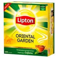 LIPTON Oriental Garden Herbata czarna (100 tb.)