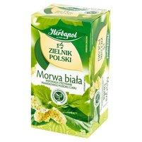 HERBAPOL Zielnik Polski Morwa biała Herbatka ziołowa (20 tb.)