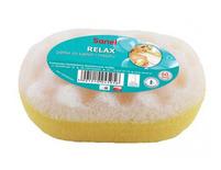Sanel Gąbka Relax do kąpieli i masażu Owal