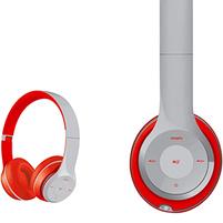 PLATINET Słuchawki bluetooth 3.0 Freestyle FH0915GR szaro-czerwone