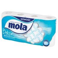 MOLA Blue Dekor Papier toaletowy bezzapachowy