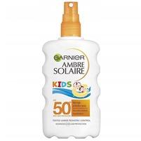 GARNIER Ambre Solaire Kids Spray ochronny dla dzieci SPF 50+