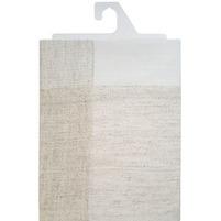 IRYS Obrus Len 160x110cm biały/szary