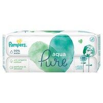 PAMPERS Aqua Pure Chusteczki nawilżane dla niemowląt (2 opak.)