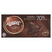 WAWEL Czekolada gorzka klasyczna 70% cocoa