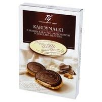 Tago kardynałki z kremem kakaowo- orzechowym i czekoladą