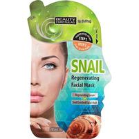 BEAUTY FORMULAS Regenerująca maska do twarzy ze śluzem ślimaka