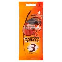 BIC 3 Sensitive Jednoczęściowe maszynki do golenia