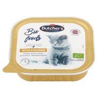 BUTCHER'S Bio Foods Karma dla dorosłych kotów pasztet z kurczakiem