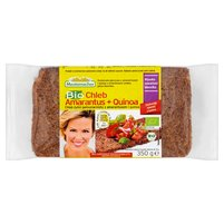 MESTEMACHER Bio Chleb żytni pełnoziarnisty z amarantusem i quinoa