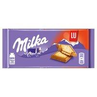 MILKA Lu Czekolada mleczna z mleka alpejskiego z ciasteczkami