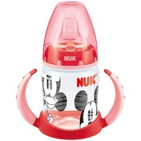 NUK First Choice Butelka z podwójnym uchwytem 150 ml Myszka Miki czerwony