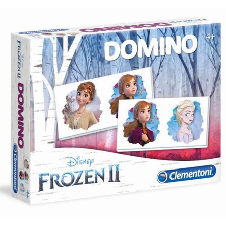 CLEMENTONI Gra logiczna Domino Kraina Lodu 2 (4+) (1)