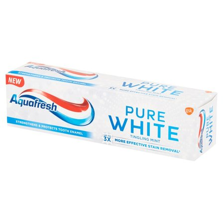 AQUAFRESH Pure White Tingling Mint Pasta do zębów z fluorkiem (1)
