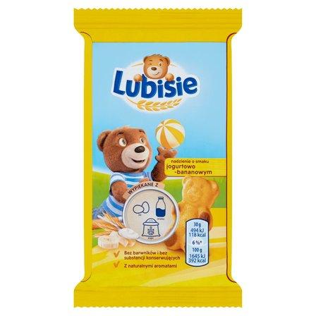 LUBISIE Ciastko biszkoptowe z nadzieniem o smaku jogurtowo-bananowym (1)