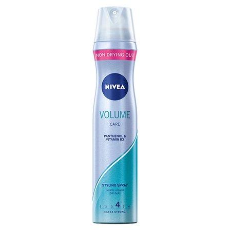 NIVEA Volume Sensation Lakier do włosów podwójna objętość bardzo mocne utrwalenie (1)