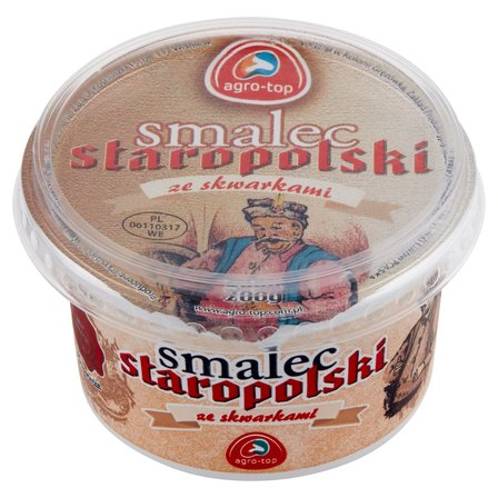 AGRO-TOP Smalec Staropolski ze skwarkami (1)