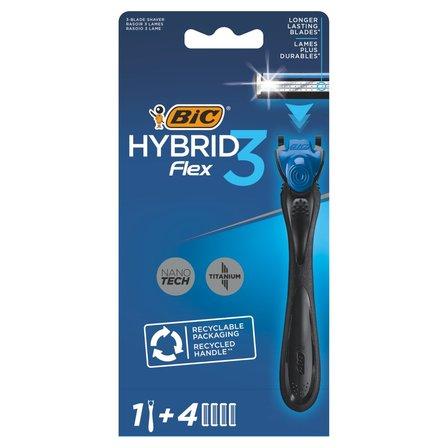 BIC Hybrid Flex 3 3-ostrzowa maszynka do golenia z wymiennymi wkładami (1)