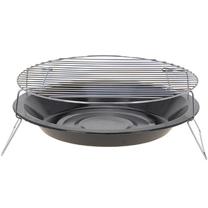 BBQ Barbecue Okrągły grill campingowy 36 cm (1)