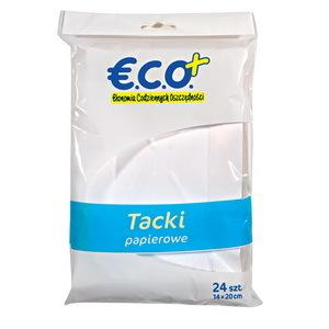 ECO+ Tacka papierowa prostokątna (2)