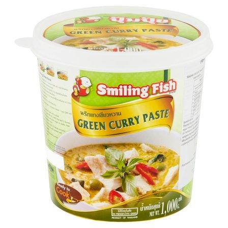 SMILING FISH Pasta curry zielona (1)
