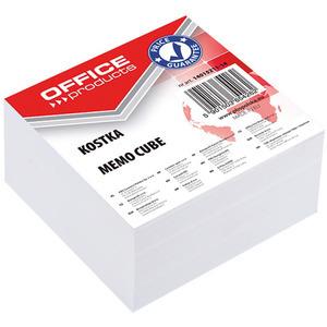 OFFICE PRODUCTS Kostka Karteczki nieklejone 85x85x40mm Białe (1)