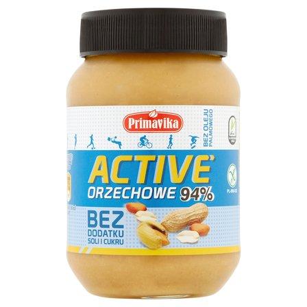 PRIMAVIKA  Active Pasta orzechowa bez dodatku soli i cukru (2)