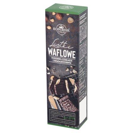 KOPERNIK Listki waflowe w deserowej czekoladzie z kremem orzechowym (1)
